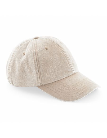Šestdelna retro kapa s šiltom