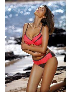 Ženske dvodelne kopalke za večja prsa Barbara Cubano-Coralmania M-473 (10)