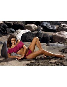 Ženski dvodijelni kupaći kostim Keira Magenta M-465 (1)