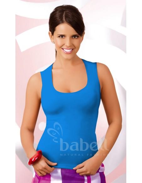 Ženska spalna srajčka Iva modra