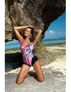 Ženski kupaći kostim Cassandra Nero-Clematis M-554 (3)