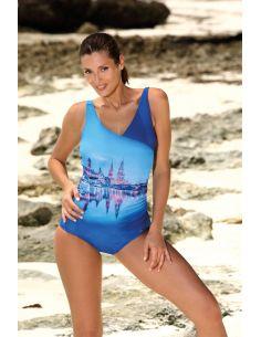 Ženski kupaći kostim Daniella Spot-Blu Cina M-555 (1)