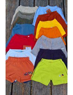Fantovske kratke hlače 3 kosi v kompletu