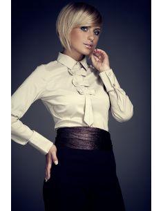 FIGL - ženska bluzica z z dolgimi rokavi M001