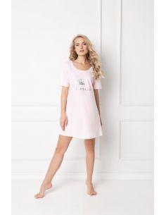 Ženska poletna pižama Sparkly Princess roza