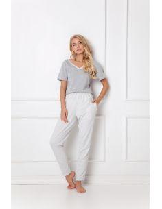 Ženska pidžama Gwen Long siva