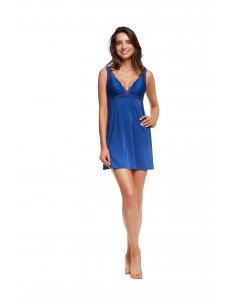 Spalna srajčka Lilly 36120-59X modra (košarice podložene)