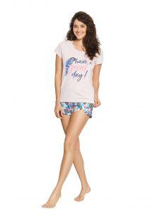 Ženska pižama Fruity 38051-03X roza