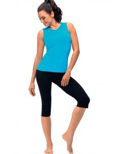 Ženske sportske 3/4 hlače Gabi cotton