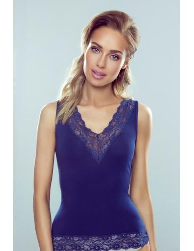 Ženska majica Lexie temno modra