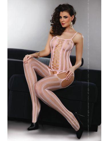 Ženski bodystocking Almas pink