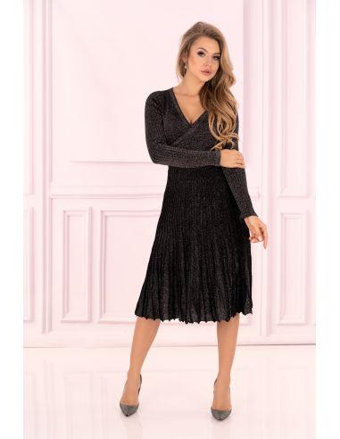 Ženska obleka Frojene Black