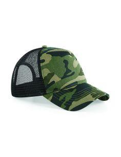 Kamuflažna kapa z meržnico B694