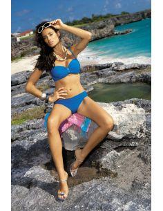 Ženski kupaći kostim Eliza M-122 -15- kraljevsko plava