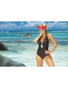 Ženski kupaći kostim Martina M-178 smeđa -159-