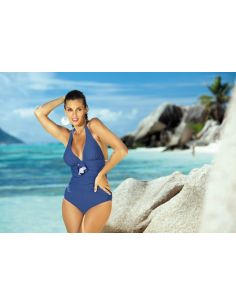 Ženski kupaći kostim Martina M-178 temno-plava -156-