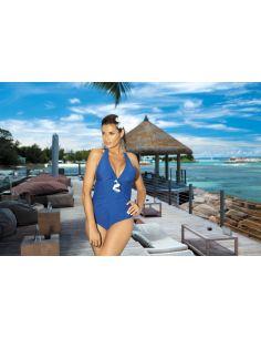 Ženski kupaći kostim Martina M-178 plava -160-