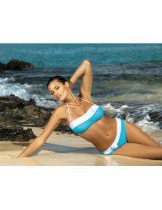 Ženski kupaći kostim Leah Mare M-216 plava -59-