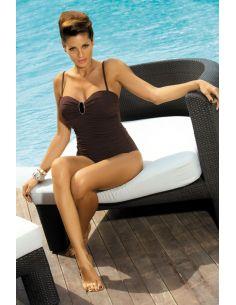 Ženski kupaći kostim Melanie Humus M-203 smeđa -68-