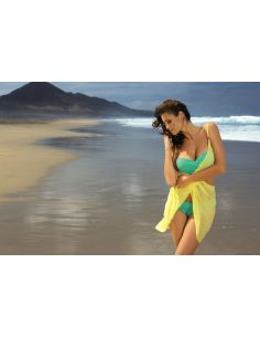 Ženski kupaći kostim Carmelita Maldive M-239 zelena -80-