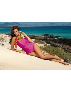 Ženski kupaći kostim Shila Clematis M-202 roza -191-