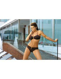 Ženski kupaći kostim Bella Espresso M-195 smeđa -134-