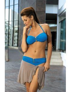 Ženski kupaći kostim Bella Kingfisher M-195 plava -137-