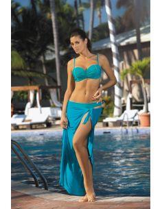 Ženski kupaći kostim Naomi Amalfi M-245 Morska zelena (93)