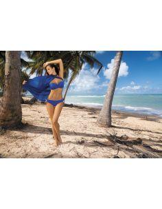 Ženski kupaći kostim Naomi Regatta M-245 safir modra (90)
