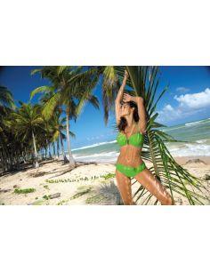 Ženski kupaći kostim Salma Erba M-254 zelena (161)