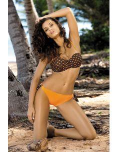 Ženski kupaći kostim Charlie Seppia-Papperino M-256 narančasta (153)