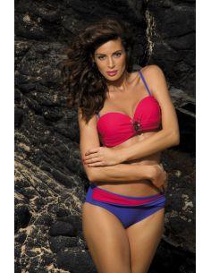 Ženski kupaći kostim Cornelia Psycho Red-Oxford M-321 (4)