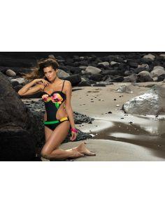 Ženski kupaći kostim Elvira Nero M-314 (128)