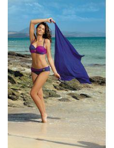 Ženski kupaći kostim Liliana Royal Blue-Memory M-259 (13)