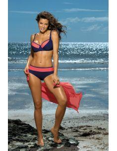 Ženski kupaći kostim Nancy Blueberry-Granatina M-330 (156)