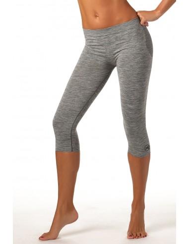 Ženske športne capri hlače Active fit - melirane