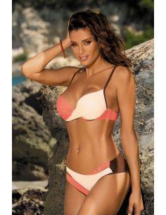 Ženski kupaći kostim Christina Africa-Avorio-Flamingo M-348 (6)