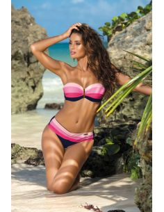Ženske kopalke Taylor Blu Scuro-Rosa Confetto Hollywood-Popstar M-350 (1)
