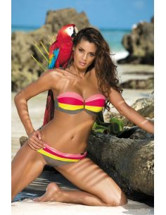 Ženski kupaći kostim Taylor Fango-Vanity Psycho Red-Tweety M-350 (9)