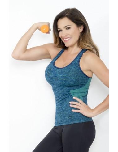 Ženska športna majica bez rukava SPACE3 DONNA ACTIVE-FIT