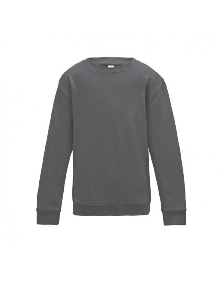 Enobarvni otroški pulover JH030J