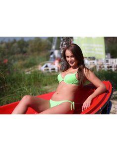 Ženske kopalke Cascada M-025 Green Peas