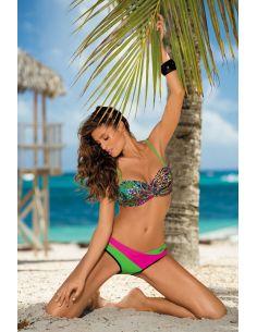 Ženski kupaći kostim Margaret Nero-Crickiet-Rosa Shocking M-377 (5)