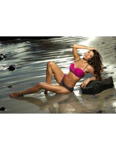 Ženski kupaći kostim Mercedes Magenta-Titanium M-385 (5)
