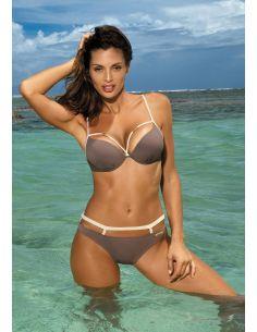 Ženski kupaći kostim Nathalie Dark Taupe M-391 (4)