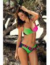 Ženske kopalke Tamara Blu Scuro-Blight Green-Rosa Shocking M-399 (3)
