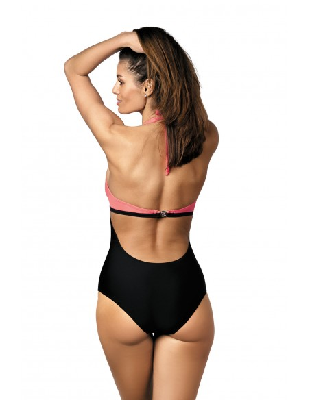 Ženski kupaći kostim Priscilla Nectarine-Nero M-428 (1)