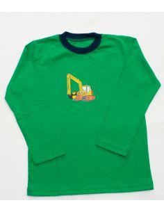 Majica za dečke radni stroji