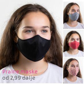 Pralne maske, pralna maska, zaščitna maska
